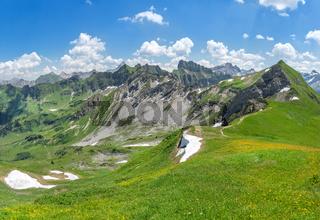 Sommeranfang in den Allgäuer Alpen