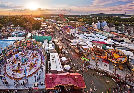 Cranger Kirmes fair, Herne, Ruhr area, Germany