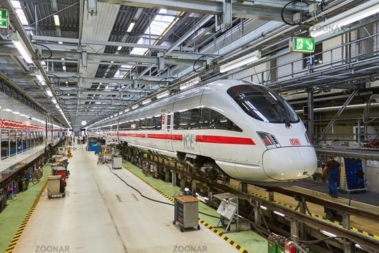 Deutsche Bahn: Maintenance of high-speed trains for Deutsche Bahn