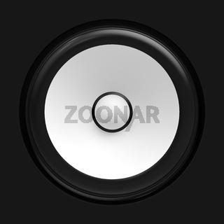 Big white speaker