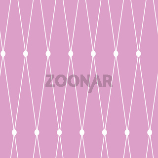 seamless background. White grid on the pink background