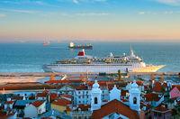Lisbon harbor, Portugal