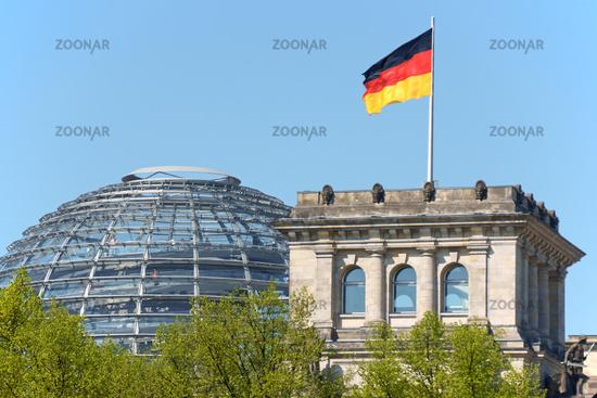 German Parliament, Bundestag in Berlin