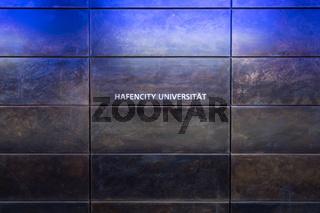 U-Bahnstation Hafencity-Universität, Hamburg