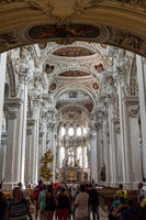 Inner view of Dome St. Stephan, Passau