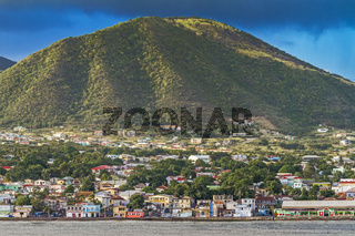 Basseterre In The Falling Light St Kitts West Indies