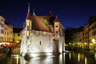 The capital of the Haute-Savoie - Annecy