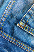 seams of jeans