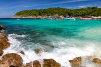 Beautiful bay on the Racha island, Thailand