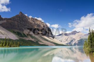 Reflections at Bow Lake