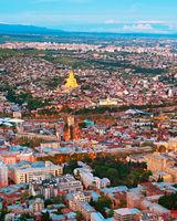 Tbilisi top view, Georgia