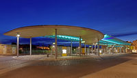 bus station Merseburg