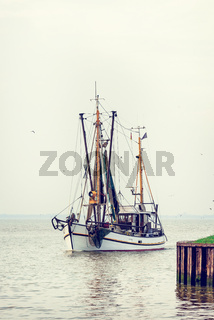 North Sea shrimp boats