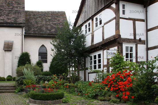 Half-timbered house in Schwalenberg