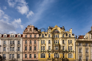 Historische Gebäude in Prag