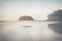 Beach in Thailand with Retro Instagram Style Filter