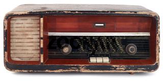 Old Wooden Radio