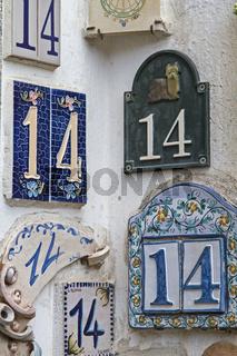 Hausnummer 14