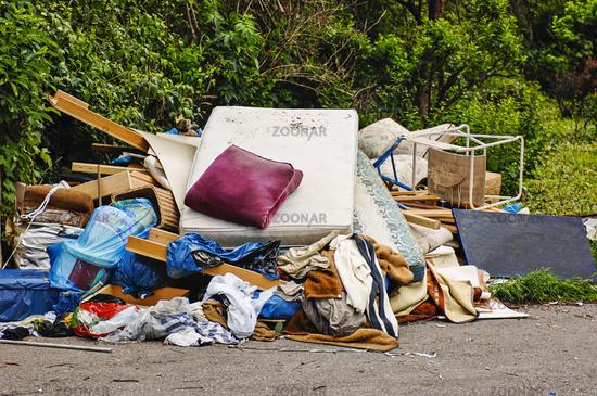 dump waste illegally.