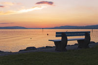 Bank am See ### bench at a lake Bank am See ### bench at a lake