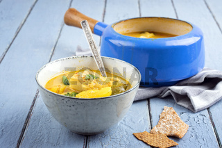 Fishsoup in Pot