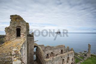 Die Burgruine Tantallon Castle