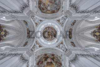 Basilika St.Martin Deckenbemalung | Oberschwaben | Deutschland