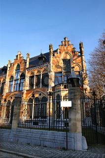 stadtvilla in gent, belgien