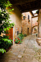Montefioralle in Chianti, Tuscany