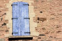 Mediterranean window shutter