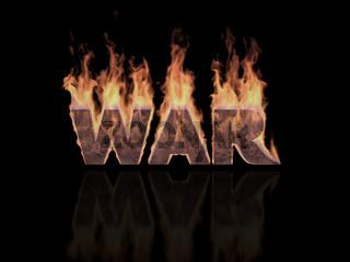 War word in Flames
