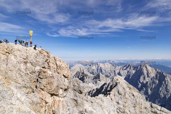 Summit of Zugspitze