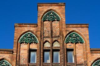 Hausfassade 004. Stralsund