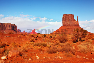 Famous  Monument Valley