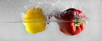 Splash vegetables