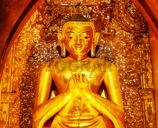 Buddha statue in Ananda temple