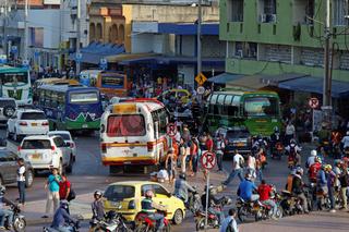 Bushaltestelle India Catalina in Cartagena
