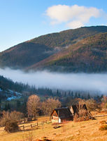 Transcarpathian Mountains village