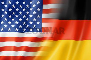 USA and Germany flag
