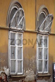 Fenster im alten Haus