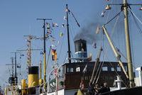 Steamships in Flensburg