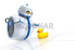 sweet little robot