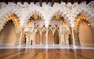 Zaragoza alcazar Corridor