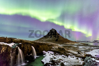 Northern Light Aurora Iceland