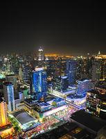 Bangkok city center, Thai