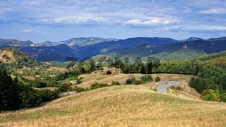 Toskana - Mugello - Passo del Giogo