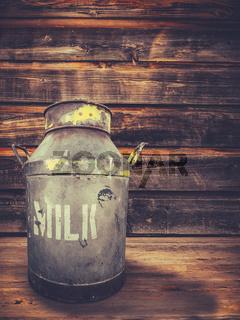 Farmhouse Porch Milk Urn