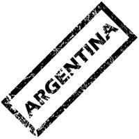 ARGENTINA rubber stamp