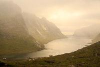 The misty Kjergfjord