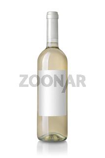 bottle white wine